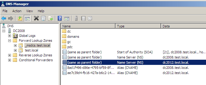 Demote Windows Server 2008 DC: Add Server 2012 as DC to Server 2008