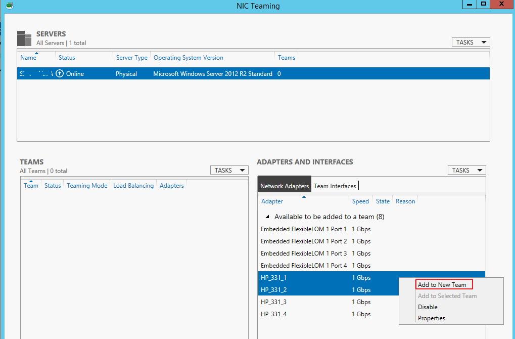 HP NC373i Multifunction Gigabit Server Adapter list of drivers