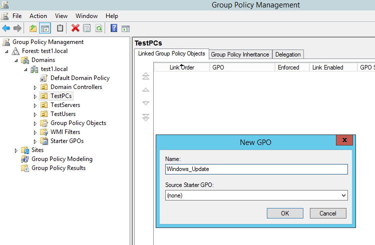 How To: Setup Group Policy on Windows Server 2012 (Windows