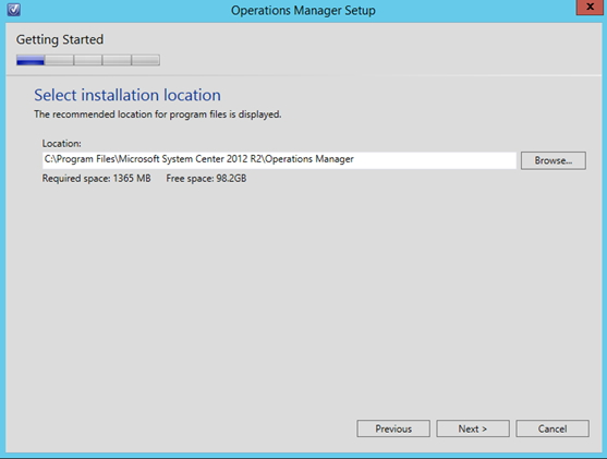 How to: Install SystemCenter Operations Manager 2012 R2 (SCOM 2012