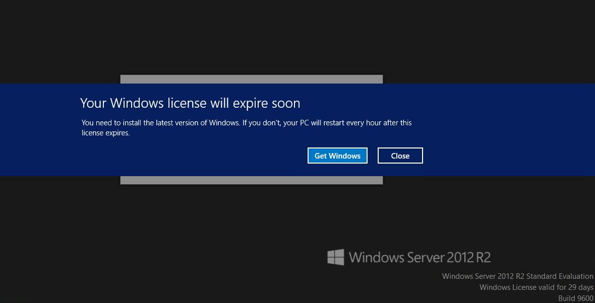 activate windows server 2008 r2 trial