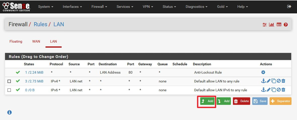 How To Define Firewall Rules On Pfsense It Blog