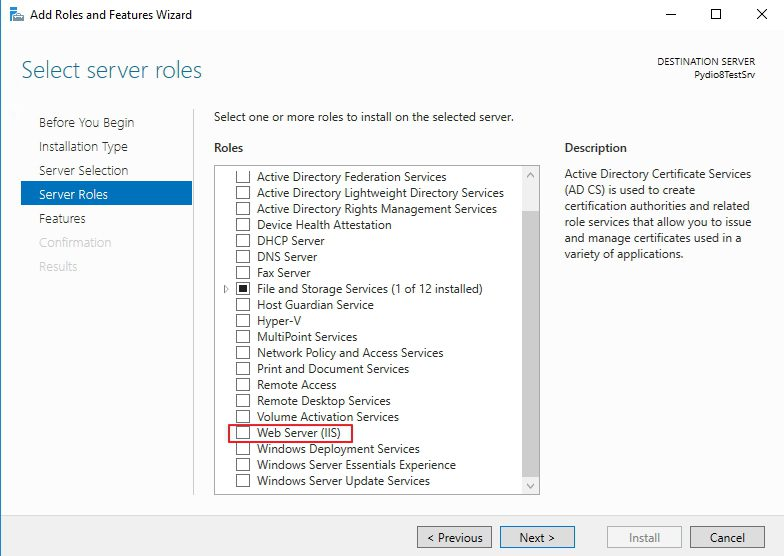 How to install Pydio 8 on Windows Server 2016 | Part 1 | IT Blog