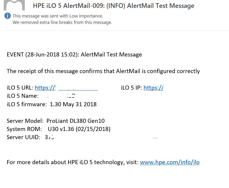How to setup HP iLO AlertMail | IT Blog